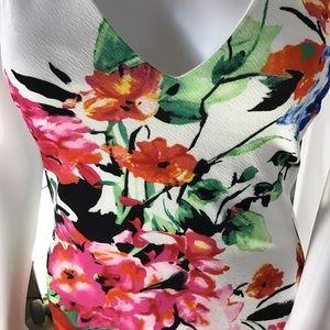 b7808e04 NWT Premier Amour Floral V Neck, Hoop Racer Dress